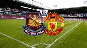 West Ham hosts Manchester United in a match from the 7th round of the Premier League