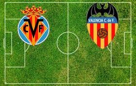 Villarreal hosts Valencia in a game from the 5th round of the Spanish La Liga