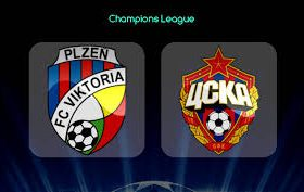 Viktoria Pilzen hosts CSKA Moscow in a match from Group G of the UEFA Champions League