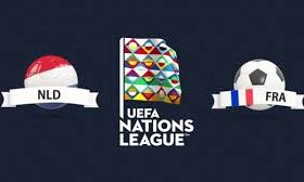Netherlands hosts France in a match from Group 1 of League A of the UEFA Nations League