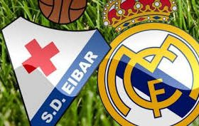 Eibar hosts Real Madrid in a match from the 13th round of the Spanish La Liga
