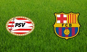 PSV hosts Barcelona in a game from Group B of the Champions League