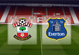 Southampton hosts Everton in a game from the 23th round of the English Premier League.