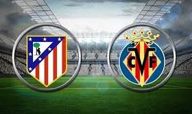Atletico Madrid welcomes Villarreal in a match from the 25th round of the Spanish La Liga