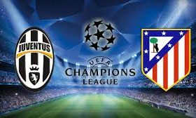 Juventus faces Atletico Madrid in a second leg from the 1/8-finals of the Champions League