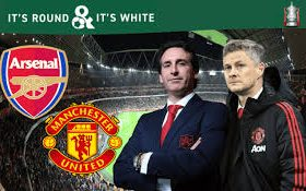 Arsenal welcomes Manchester United at the Emirates in a derby game from the 30th round of the Premier League